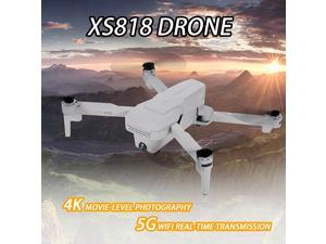 XS818 Drone with Camera 4K Drone 5G Wifi Optical Flow GPS Positioning Track Flight Altitude Hold Follow Me Gesture Photos Video RC Quadcopter