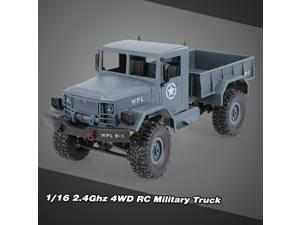 WPL B-1 1/16 RC Crawler Off-Road Car With Headlight 4WD Pick-up Truck Gift for Kids RTR