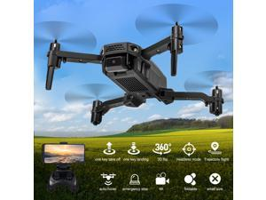 KF611 RC Drone with Camera 4K Mini Drone Foldable Quadcopter Indoor Toy for Kids with Function Trajectory Flight Headless Mode 3D Flight Auto Hover with Bag 2 Battery