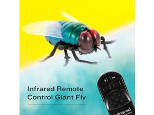 Infrared Remote Control Simulation Giant Fly RC Insect Animal Toy Present Gift for Kids