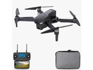 KF107 RC Drone with Dual Camera 4K 5G Wifi GPS Brushless Drone Optical Flow Positioning RC Quadcopter with Headless Mode Waypoint Follow Surround Mode Storage Bag