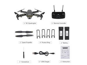 GLOBAL DRONE GW89 RC Drone with Camera 1080P Wifi FPV Gesture Photo Video Altitude Hold Foldable RC Quadcopter with 2 Battery