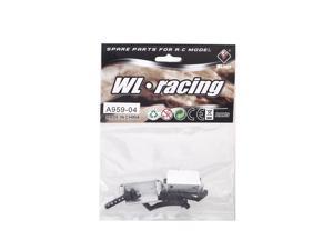 Original Wltoys A959 1/18 Rc Car Tail Wing Holder Set A959 04 Part for Wltoys RC Car Part (Wltoys A959 Tail Wing Holder Set,Wltoys A959 04 Part A959 04)