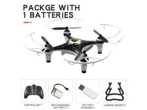 JX815-2 RC Mini Drone for Kids 2.4G 4CH RC Quadcopter Toy Headless Mode 360 Degree Flip for Beginners