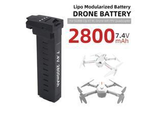 Lipo Battery 7.4V 2800mAh Modularized Drone Battery for SG906 CSJ-X7 RC Drone Wifi FPV Quadcopter