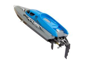 RC Boat Remote Control Boat 30KM/H High Speed IPV7 Waterproof 2.4GHz 4 Channel Racing Boat for Kids Adults