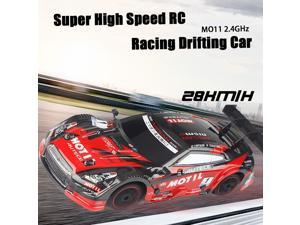 MO11 1/18 RC Car Racing Drifting Car 28km/h 4WD High Speed Two Types Tires Kids Gift RTR