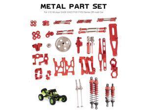 2pcs Metal Rear Suspension Arm for 1/12 Wltoys 12428 12423 FY03 Hopup Parts RC Off-road Car Crawler