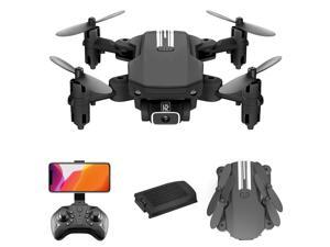 LS-MIN Mini Drone RC Quadcopter 4K Camera 13mins Flight Time 360° Flip 6-Axis Gyro Gesture Photo Video Track Flight Altitude Hold Headless Remote Control Drone for Kids Adults