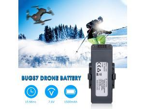 for MJX Bugs 7 B7 RC Drone Battery 7.6V 1500mAh Lipo Replacement Battery Modular Battery for RC Quadcopter