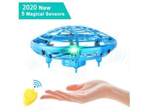 Mini Drone UFO Hand Operated RC Helicopter Quadrocopter Drone Infrared Induction Aircraft Flying Ball Toys For Kids