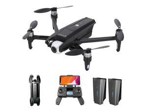 KK13 RC Drone with Camera 4K Drone 5G WIFI 2-axis Gimbal Brushless Drone Gesture Photo 120°Wide Angle GPS Follow up Optical Flow Positioning 25mins Flight Time Quadcopter 2 Battery