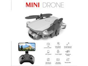 LS-MIN Mini Drone RC Quadcopter 1080P Camera 13mins Flight Time 360° Flip 6-Axis Gyro Gesture Photo Video Track Flight Altitude Hold Headless Remote Control Drone for Kids Adults
