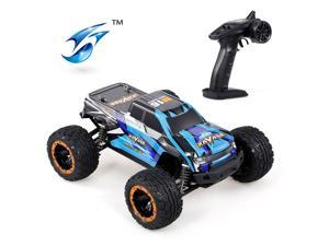 Linxtech 16889A 1/16 RC Car 45km/h Brushless Motor 4WD RC Race Truck Car Big Foot Off Road Car Toy for Adult Kids