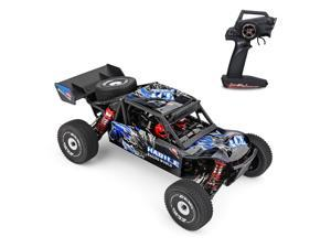 Wltoys 124018 High Speed Racing Car 60km/h 1/12 2.4GHz RC Car Off-Road Drift Car RTR 4WD with Aluminum Alloy Chassis Zinc Alloy Gear