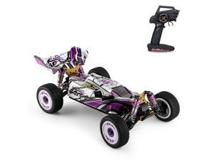 Wltoys 124019 High Speed Racing Car 60km/h 1/12 2.4GHz RC Car Off-Road Drift Car RTR 4WD with Aluminum Alloy Chassis Zinc Alloy Gear