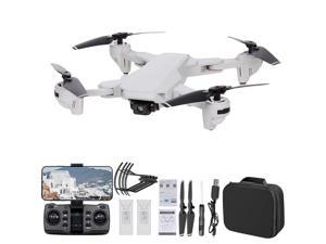 S103 RC Drone with Camera 4K 5G Wifi GPS Foldable Optical Flow Positioning RC Quadcopter with Headless Mode Waypoint Follow Surround Mode 2 Battery