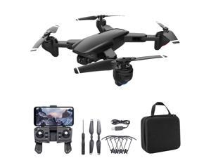 SG701 RC Drone with Camera 4K Dual Camera Wifi FPV Drone Foldable RC Quadcopter with Headless Mode Trajectory Flight with Bag