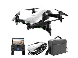 F8 RC Drone With Camera 4K GPS Smart Follow Optical Flow Fixed Point Surround MV APP Control Foldable Brushless Quadcopter Drone for Adult with Bag