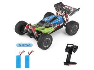 Wltoys XKS 144001 1/14 RC Car High Speed Racing Car 2200mAh Battery 60km/h 2.4GHz RC Buggy 4WD Off-Road Drift Car RTR