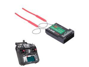 Flysky FS-i6X 2.4GHz 10CH AFHDS 2A RC Transmitter with FS-iA10B Receiver for RC Drone Airplane Helicopter