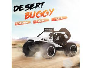 KY-2010A 1/14 RC Car 2.4Ghz Desert Buggy 20KPH Desert Off Road RC Truck Electric Toy Car for Adults Kids