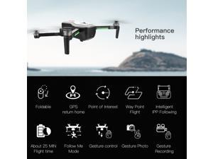 SG906 GPS Brushless 4K Drone with Camera 5G Wifi FPV Foldable Optical Flow Positioning Altitude Hold RC Quadcopter with 3 Battery