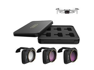 Compatible with DJI Mavic Mini Drone 3pcs Lens Filter Set CPL ND8 ND16 Filter Multi Coated Filters Combo Camera Lens