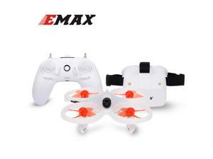 EMAX EZ Pilot Drone for Beginner Indoor FPV Racing Drone with 600TVL Camera Speed 3 Levels Gyroscope Auto-leveling Smart Height Assist with FPV Glasses