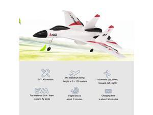 Original WLtoys XK A100 2.4G 340mm 3CH RC Airplane Fixed Wing Plane Aircraft Outdoor Toys