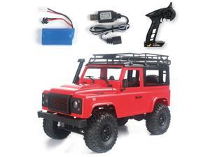 MN-D90 Rock Crawler 1/12 4WD 2.4G Remote Control High Speed Off Road Truck RC Car Led Light RTR