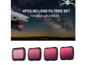 for DJI Mavic Air 2 Drone 4pcs ND Lens Filter Set ND4 ND8 ND16 ND32 Filter Combo Multi-Coated Filters Camera Lens