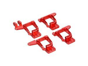 1/10 RC Car Aluminum Front/Rear Shock Tower Hoops Bracket Mount Compatible with Traxxas Trx-4 Car 4PCS Upgrade Parts