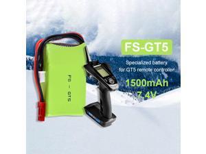 2S 7.4V 1500mAh Lipo Battery for FLYSKY FS-GT5 Remote Controller