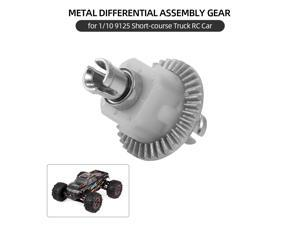 XINLEHONG TOYS Differential Assembly Metal Differential Gear for 1/10 9125 Short-course Truck RC Car