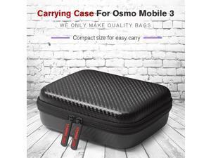 STARTRC Osmo Mobile 3 Carry Case Portable Mini Hard Travel Storage Bag PU Handbag for DJI Osmo Mobile 3 Action Camera