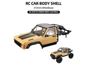 AUSTAR RC Car Body Shell Kit for 313mm Wheelbase On Road Body Set Painted Car Body for AXIAL SCX10 II 90046 90047 RC Car DIY