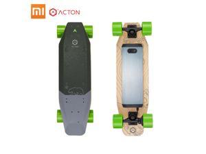 Xiaomi ACTON Blink S-R Intelligent Electric Skateboard Scooter 7 Miles Range LED Lighting Wireless Remote 3 Ride Modes Single Hub System