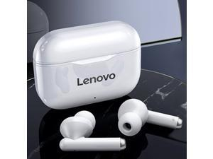 Lenovo LivePods LP1 Flagship Premium Edition True Wireless Earbuds BT 5.0 Headphones TWS Stereo Earphones with Dual Diaphragms Dual Hosts IPX4 Waterproof TWS Headsets Sports Headphones with Noise