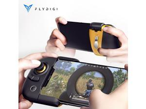 Global Version Flydigi WASP2 Gamepad Elite Edition One-handed Gamepad Game Joysticks Micro Switch Triggers With Type C Gaming BT Wireless Controller For PUBG iOS Android Smartphone