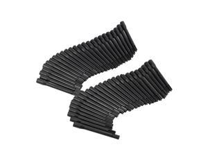 50pcs Tattoo Pigment Ink Mixer Stirring Rods for Microblading Tattoo Coloring Machine Black