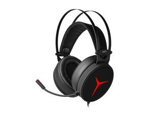 Lenovo Star Y360 2.2m Wired Professional Gaming Headset 7.1 Surround Sound 50mm Drive Unit Over-the-ear Headphone With Microphone USB Interface Strong Bass Soft Headset