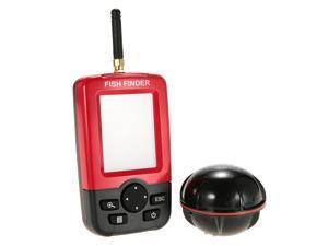Portable Color LCD Fish Finder Wireless Sonar Sensor Transducer Fishfinder Fish Alarm Depth Locator Fishing Equipment with LED Backlight
