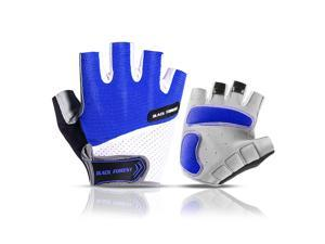 Breathable Half Finger Cycling Gloves Anti Slip Pad Motorcycle MTB Road Bike Gloves Men Women Sports Bicycle Gloves