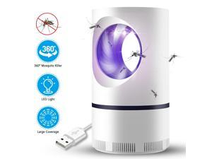Electric Mosquito Killer Lamp USB Power Anti-mosquito Trap LED Night Light Lamp Bug Insect Killer Light Repeller