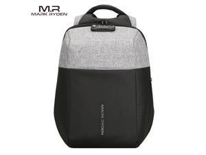 MARK RYDEN Fashionable Anti-Thief Multifunctional Business Laptop Bag Waterproof USB Charging Outdoor Men Backpack
