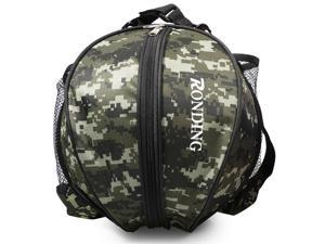 Sports Ball Round Bag Basketball Shoulder Bag Soccer Ball Football Volleyball Carrying Bag Travel Bag for Men and Women