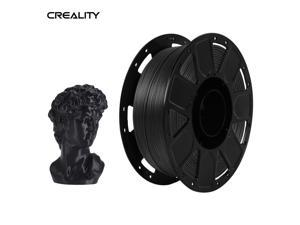 Creality Ender 3D Printer PLA Filament 1.75mm 1kg/2.2lbs Filament Dimensional Accuracy +/- 0.02 mm, Black