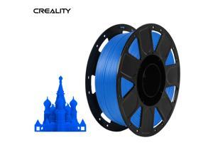 Creality Ender 3D Printer PLA Filament 1.75mm 1kg/2.2lbs Filament Dimensional Accuracy +/- 0.02 mm, Blue
