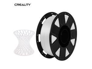 Creality Ender 3D Printer PLA Filament 1.75mm 1kg/2.2lbs Filament Dimensional Accuracy +/- 0.02 mm, White